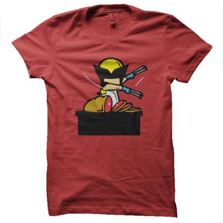 propio trabajo especial Wolverine roja
