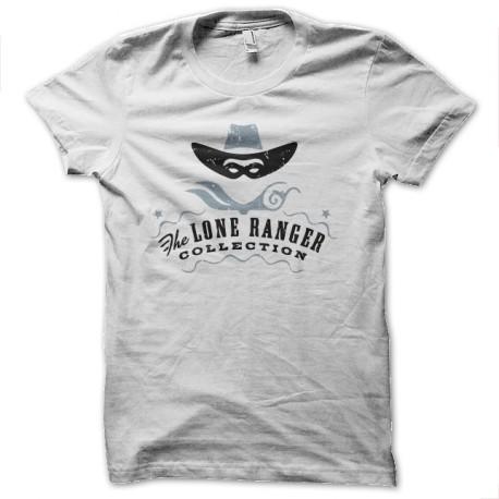 tee shirt the lone ranger blanc