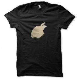 tee shirt apples 3D noir