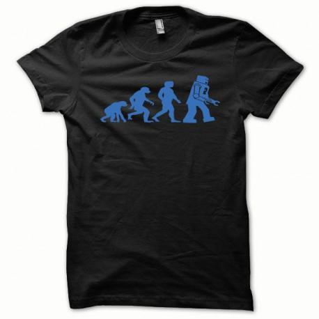 Tee shirt Lego Evolution bleu/noir