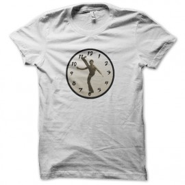 Bruce Lee camisa reloj blanco