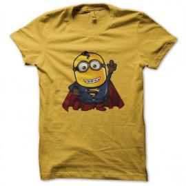 camisa de la cena subordinado amarillo