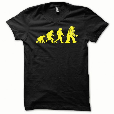Tee shirt Lego Evolution jaune/noir