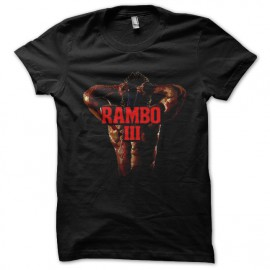 black tee shirt rambo3