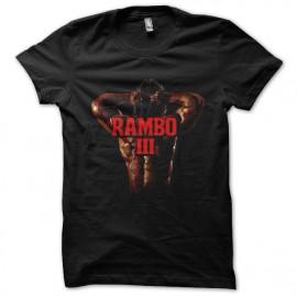 tee shirt rambo3 noir