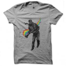 gray work shirt design art
