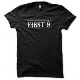 Camisa de los primeros nueve hijos de la anarquía negro