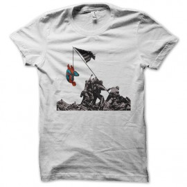 spider man shirt funny white