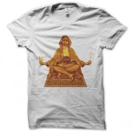 white t-shirt god Lebowski