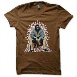 camisa El gran Lebowski Juego de Tronos marrón