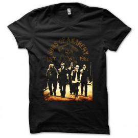 camisa negros hijos de la anarquía