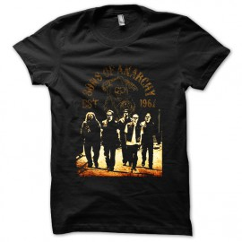 tee shirt sons of anarchy  noir