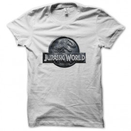 Camiseta blanca del Mundo Jurásico