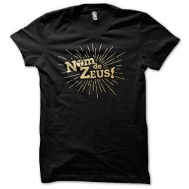 Tee Shirt BTTF Nom de Zeus Noir