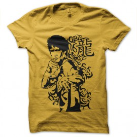 bruce lee yellow shirt