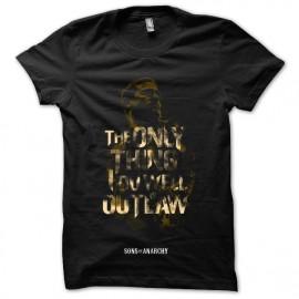Camisa La única cosa que se puede hacer es la ley cabo negro