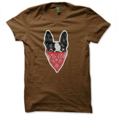 perros gangsta camisa marrón