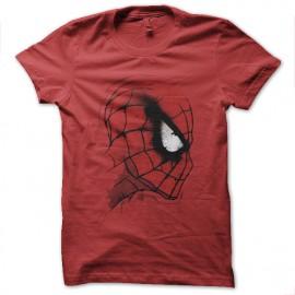 camisa roja del hombre araña