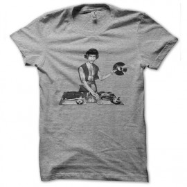 bruce lee dj gray shirt