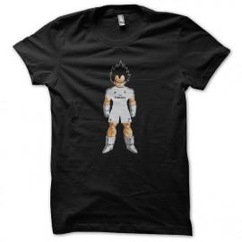 Vegeta camisa de color negro real madrid