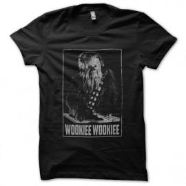 tee shirt wookiee wookiee noir