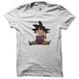 Goku white shirt barcelona