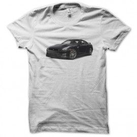 super coche negro camiseta