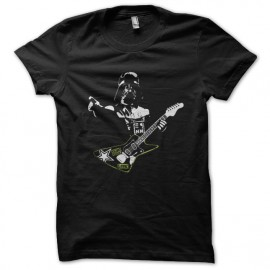 star wars vaders guitar black t shirt