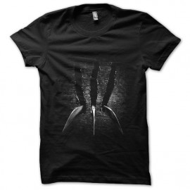 shirt black claw wolverine