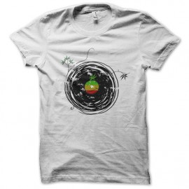 reggae music white shirt