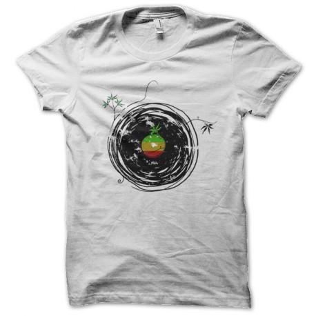 reggae music white shirt