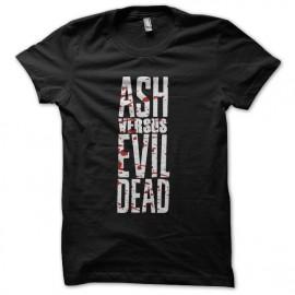 camisa de ceniza negro vs muertos mal