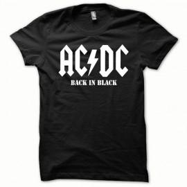 Tee shirt ACDC Blanc/Noir