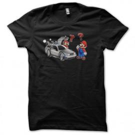 Camisa Mario regresa al futuro negro