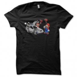 shirt Mario returns to the black future