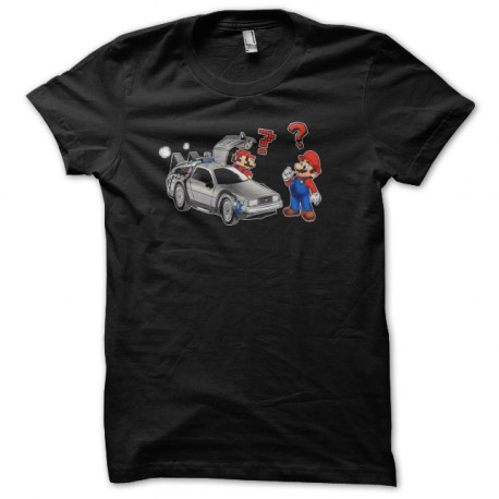 shirt Mario returns to the black future