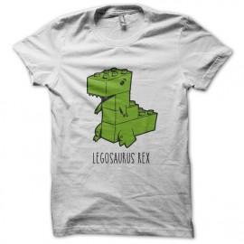 Tee Shirt Legosaurus Rex - Blanc