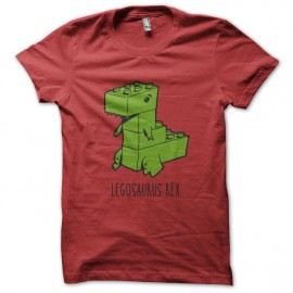 Tee Shirt Legosaurus Rex - Rouge