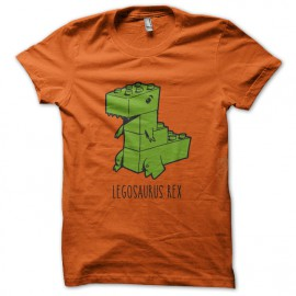 Tee Shirt Legosaurus Rex - Orange