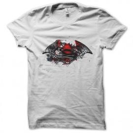 Batman y Superman camiseta blanca