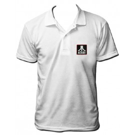 Atari Polo bordado blanco
