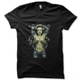 camisa de la novia de Frankenstein negro