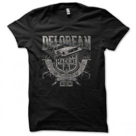 delorean black shirt Machine