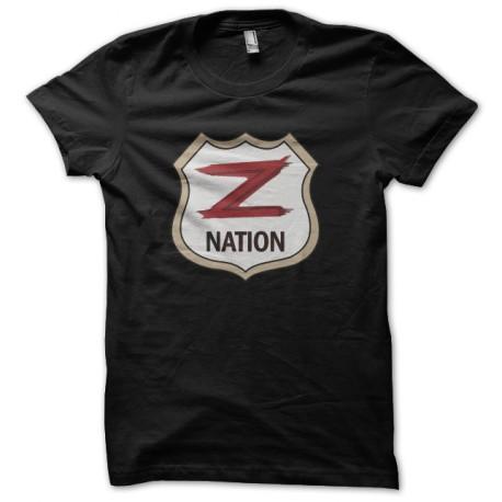 tee shirt z nation noir