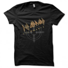 Def Leppard shirt black pyromania