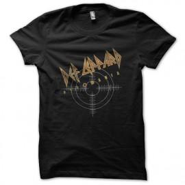 Def Leppard camisa piromanía negro