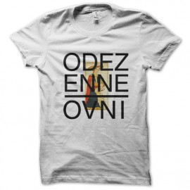 shirt Odez enne white UFO
