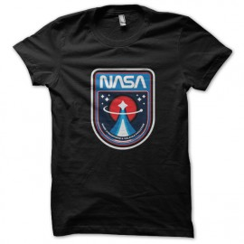 tee shirt Nasa noir