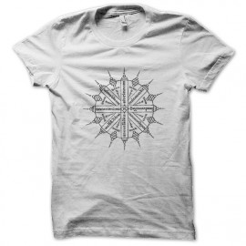 Prosperity white shirt tattoo