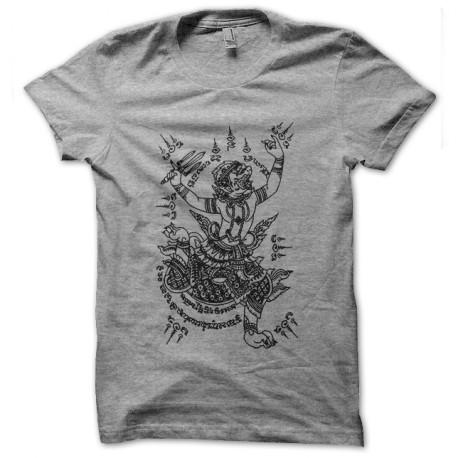 tee shirt magic tattoo gris